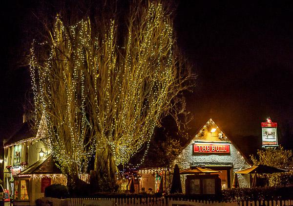 Theydon Bois Christmas Lights