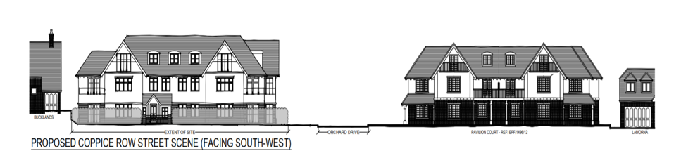 Proposed Development on the Sites of 'Wain' and 'Green Hedges', Coppice Row