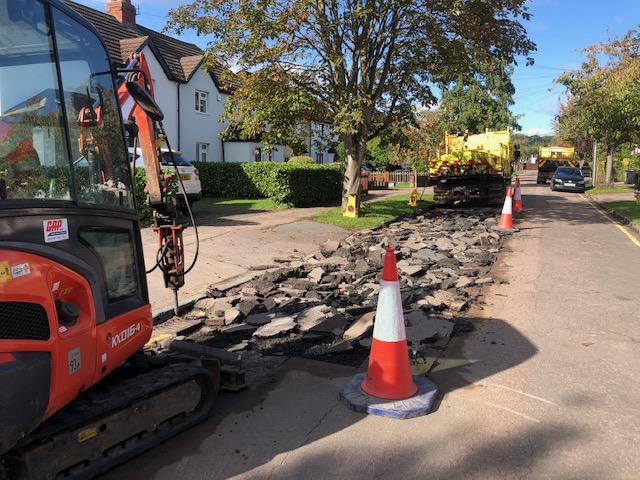 Buxton Road Highway Works